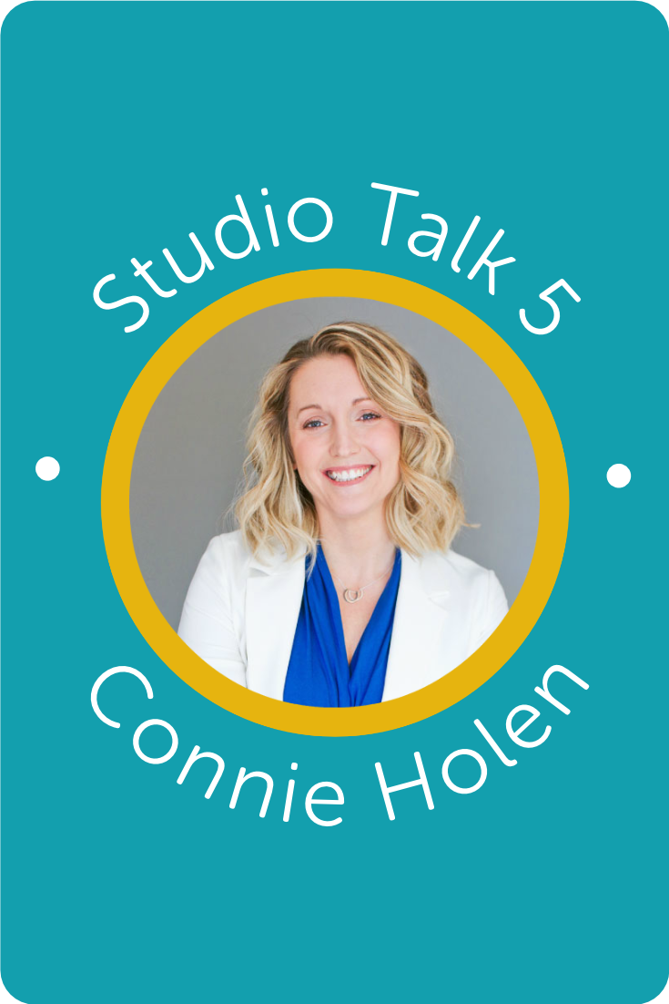 Studio Talk 5・Interviews with Squarespace Web Designers・Connie HolenKerstin Martin Squarespace Studio