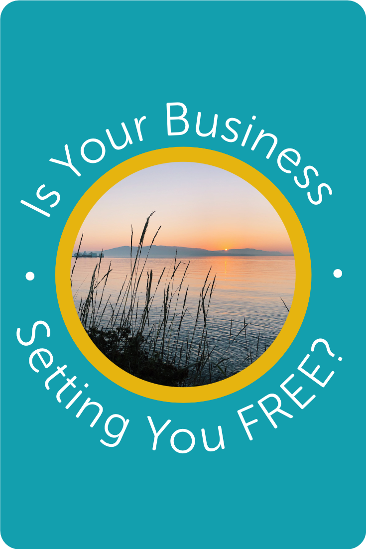 Is your Business setting you FREE? | Kerstin Martin Squarespace Studio