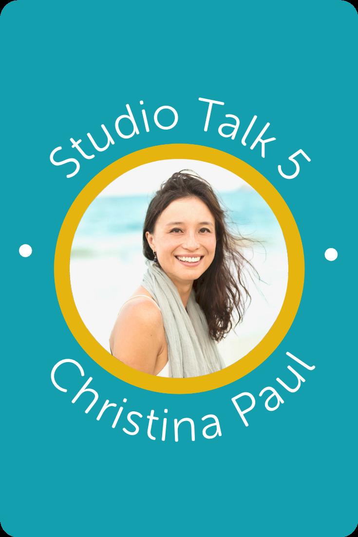 Studio Talk 5 Interview・Christina Paul・Kerstin Martin Squarespace Studio