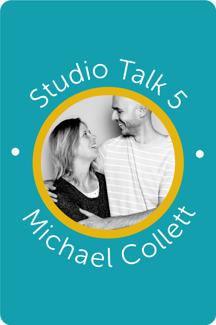 Studio Talk 5 Interview with Michael Collett・Kerstin Martin Squarespace Studio