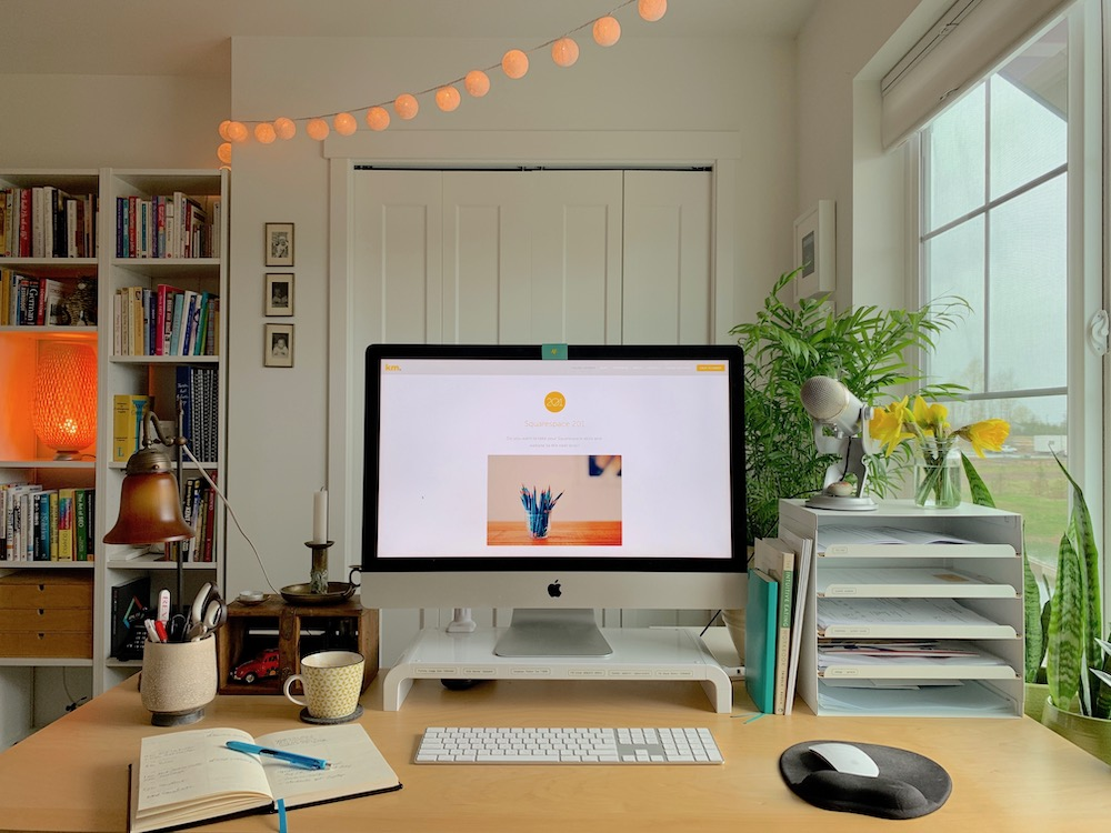 Kerstin Martin Squarespace Studio: Home Office