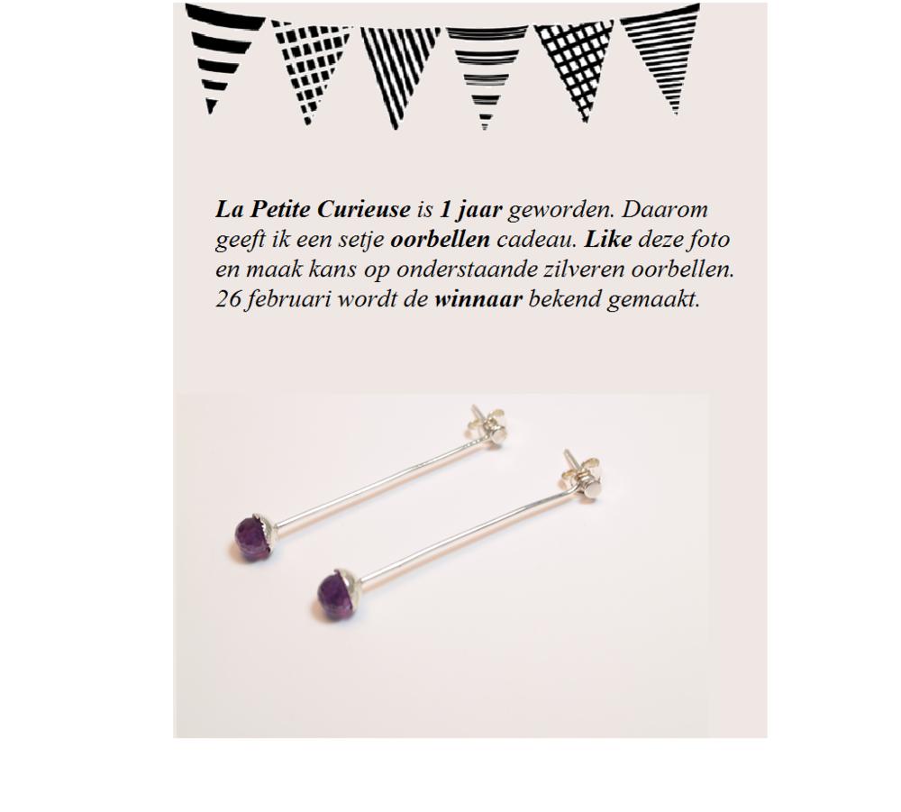 1 jaar La Petite Curieuse