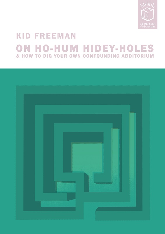 'Ho-Hum Hidey Holes' Screenprint Ed 10 A2 £200