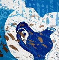 Jacki Baxter Blue_Gold_Jug   30 x 30cms etched  lino Small.jpg