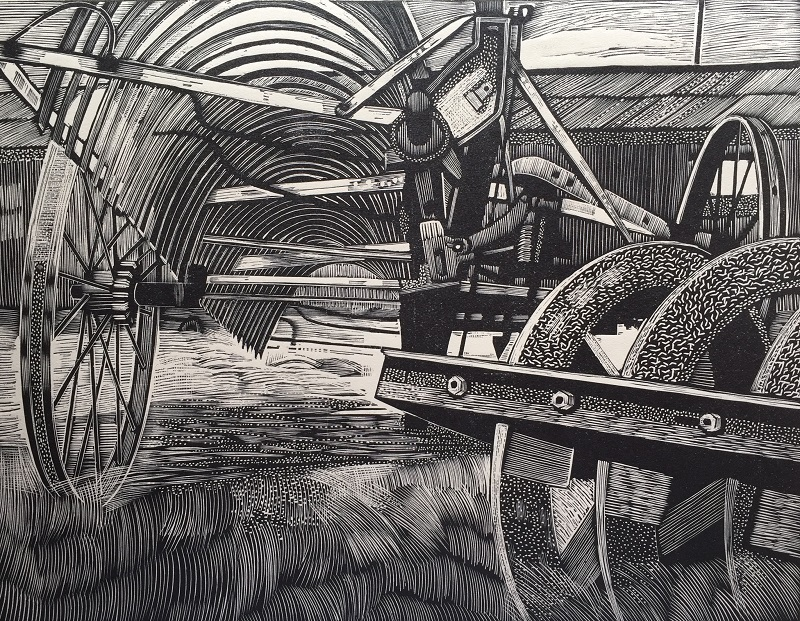 Farm Machinery engraving
