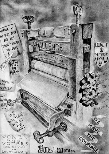 'The Challenge' by Ausra Vaisviliate made during the Still Life Study Workshops
