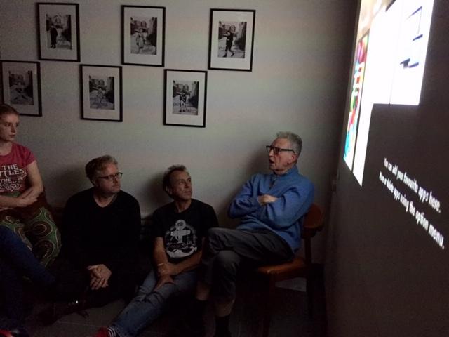 Derek Boshier talking about his films
