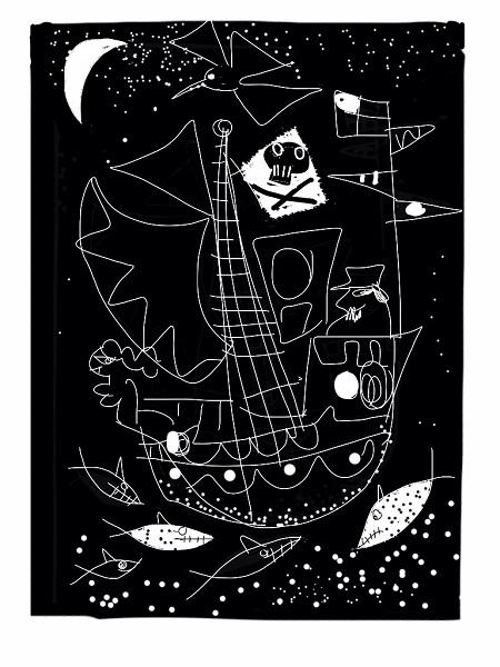 Anthony Millard 'Night Voyage' lithograph