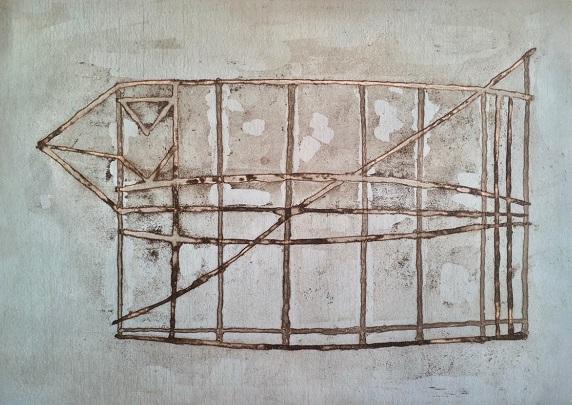 Phillomene Wales 'Beyond the Horizon' aquatint