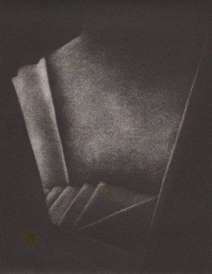 Christine Watson 'Stairwell - Telouet' mezzotint