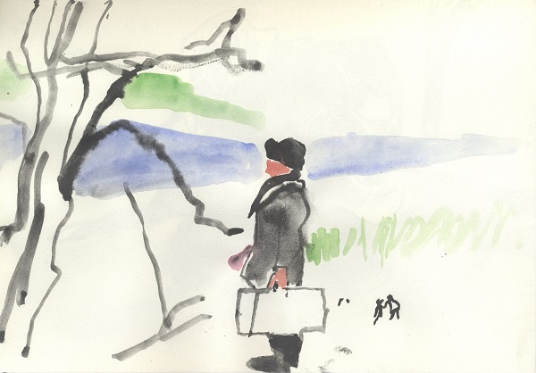 Kitty Reford 'Journey 2' lithograph
