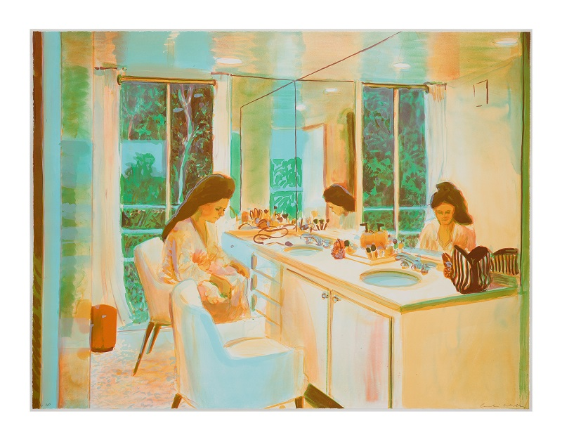 'Brushwork' lithograph edition of 35