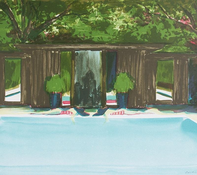 'Island Resort' lihtograph edition of 25