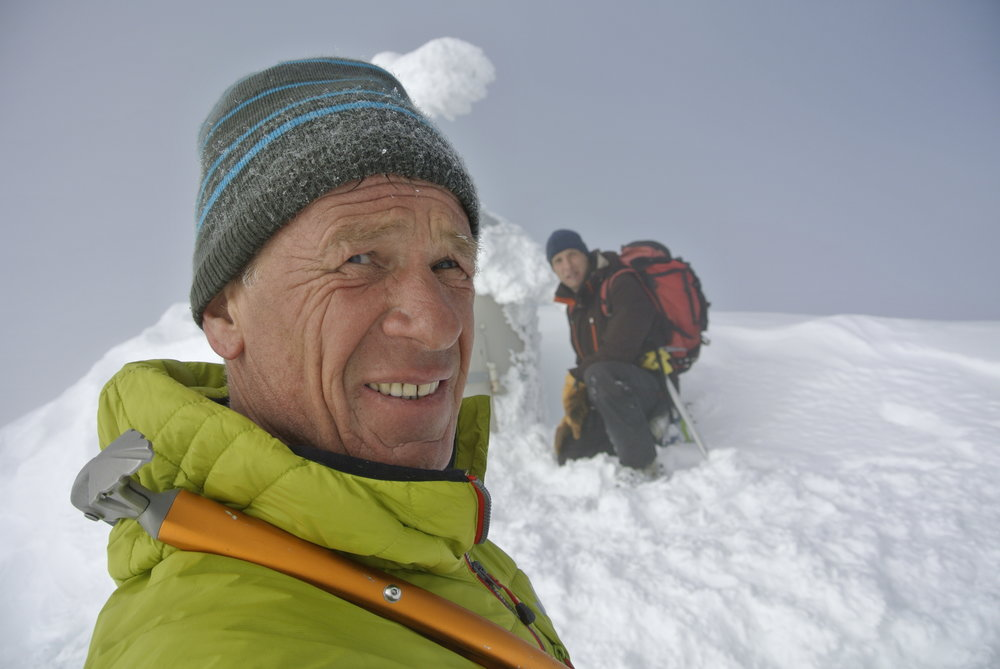 Mountain guide Franc Pepevnik Aco