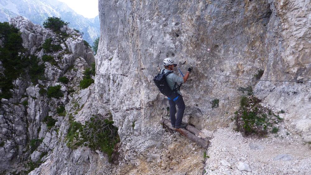 The Tominskova trail