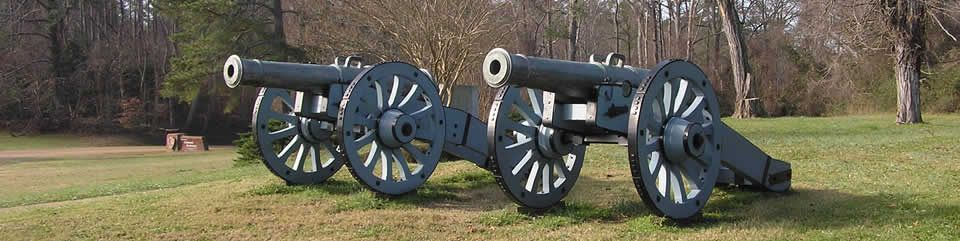 Yorktown Battlefield, Part of the Colonial National Historic Park, Virginia.