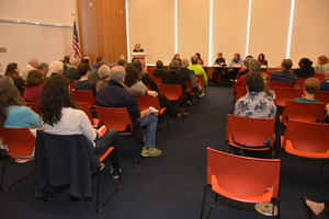 Virginia is For Mysteries: Volume II launch (Photo from Sisters in Crime--Central Virginia
