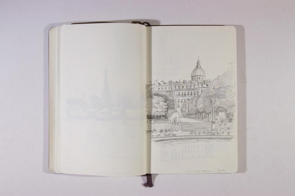 Anna Koenigs - sketchbook Paris