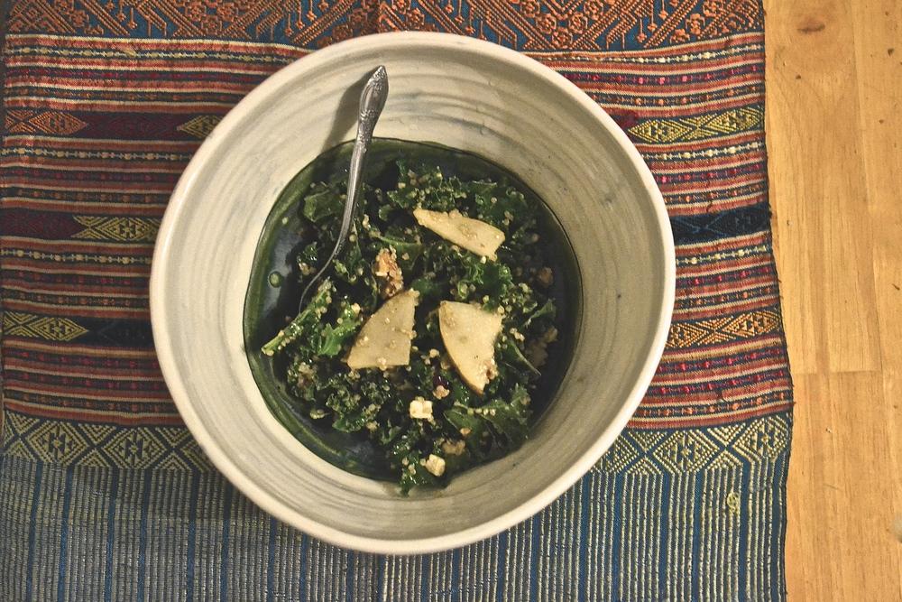 Hannah's Kale Salad