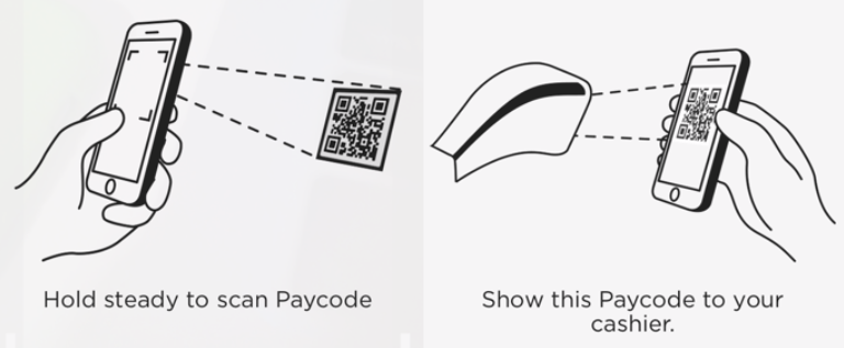 "The POS process from the Apple Pay ""competitor"", CurrentC. Oh yeah, this will work great. Pure genius."