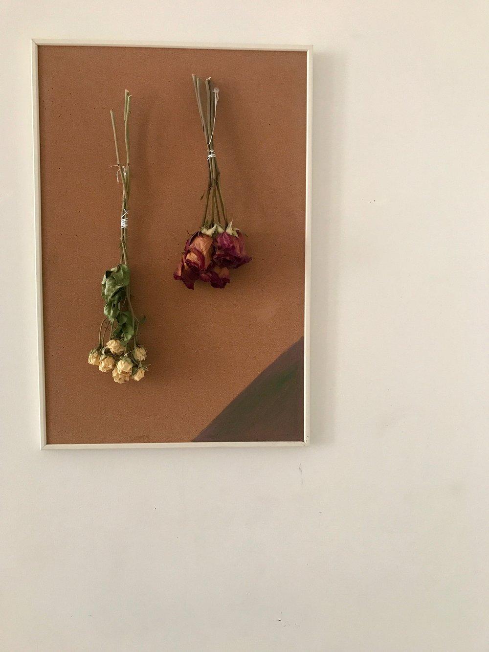 dried flowers corkboard.JPG