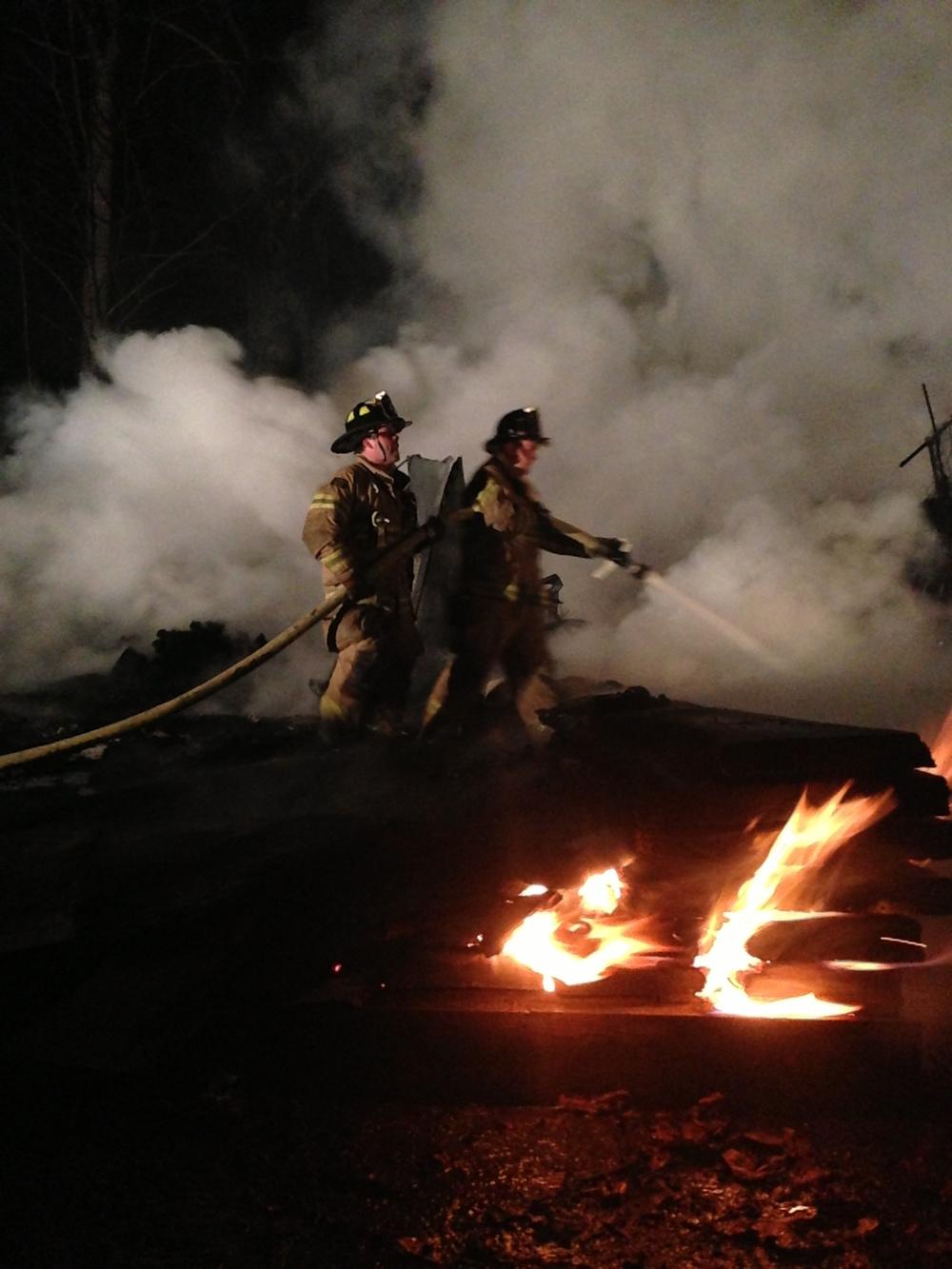 Camp Yaw Paw Fire