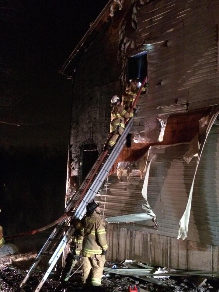 Lakeview Drive Working Fire