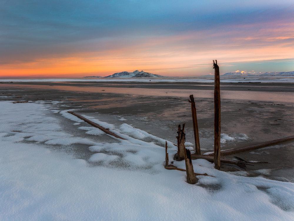 Great Saltair Remains, Utah