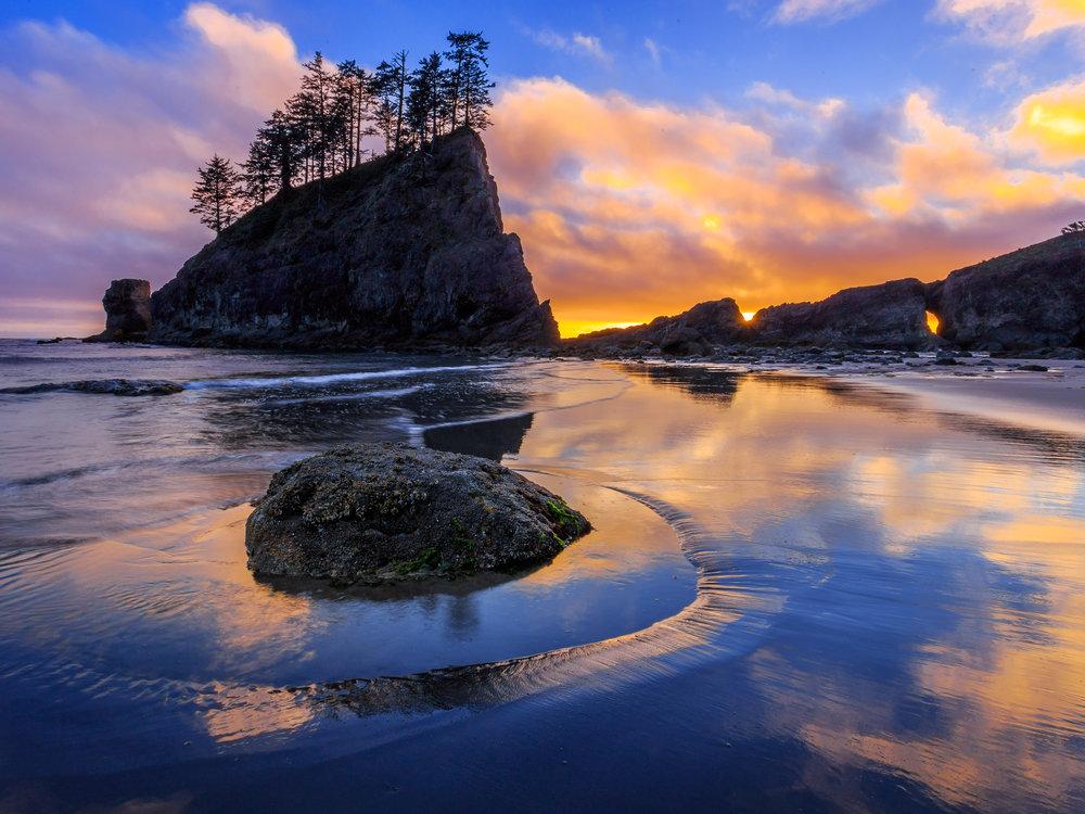 Second Beach, Olympic National Park, Washington