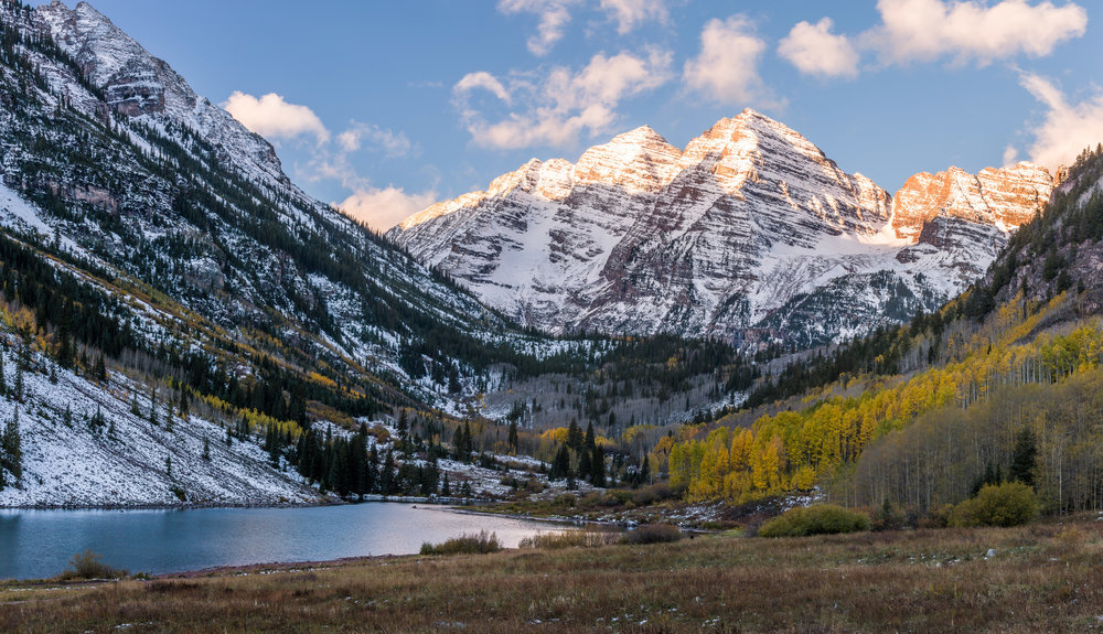 Maroon Bells, Snowmass Wilderness                                                    ©Andrew Lockwood 2017