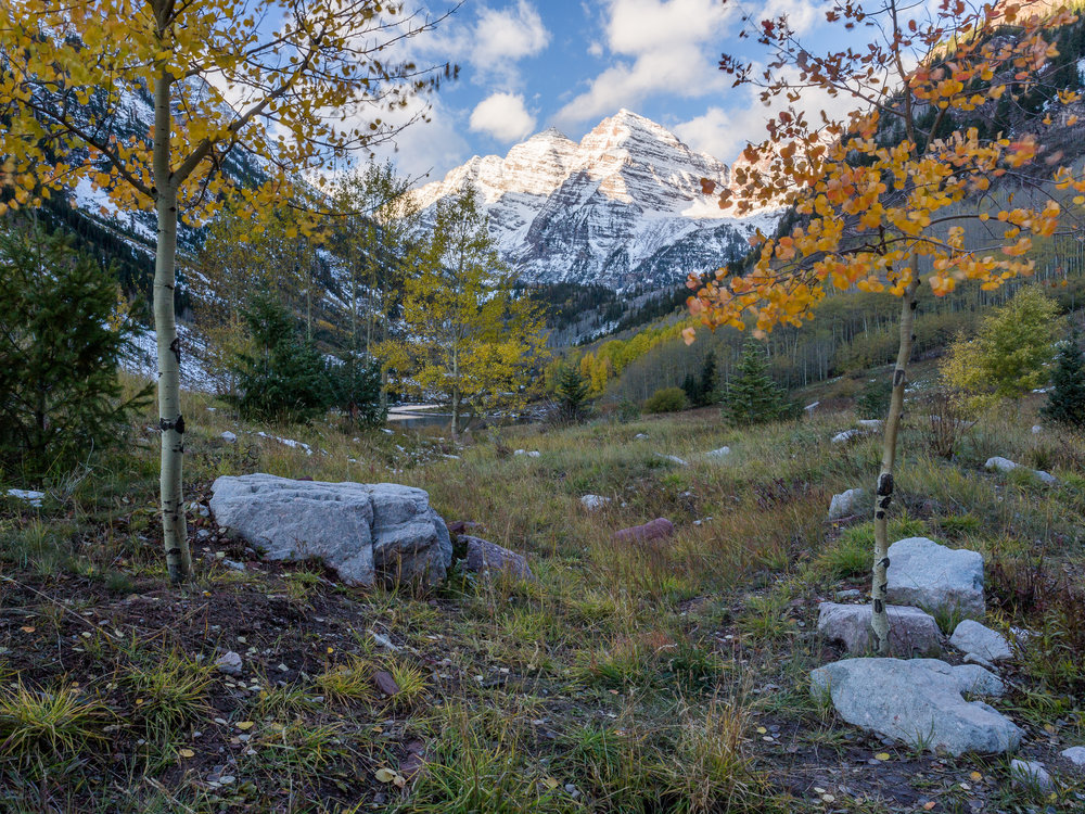 Maroon Bells, Snowmass Wilderness                                                      ©Andew Lockwood 2017