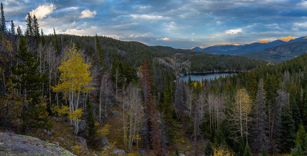 Above Bear Lake, Rocky Mountain National Park  © Andrew Lockwood 2017