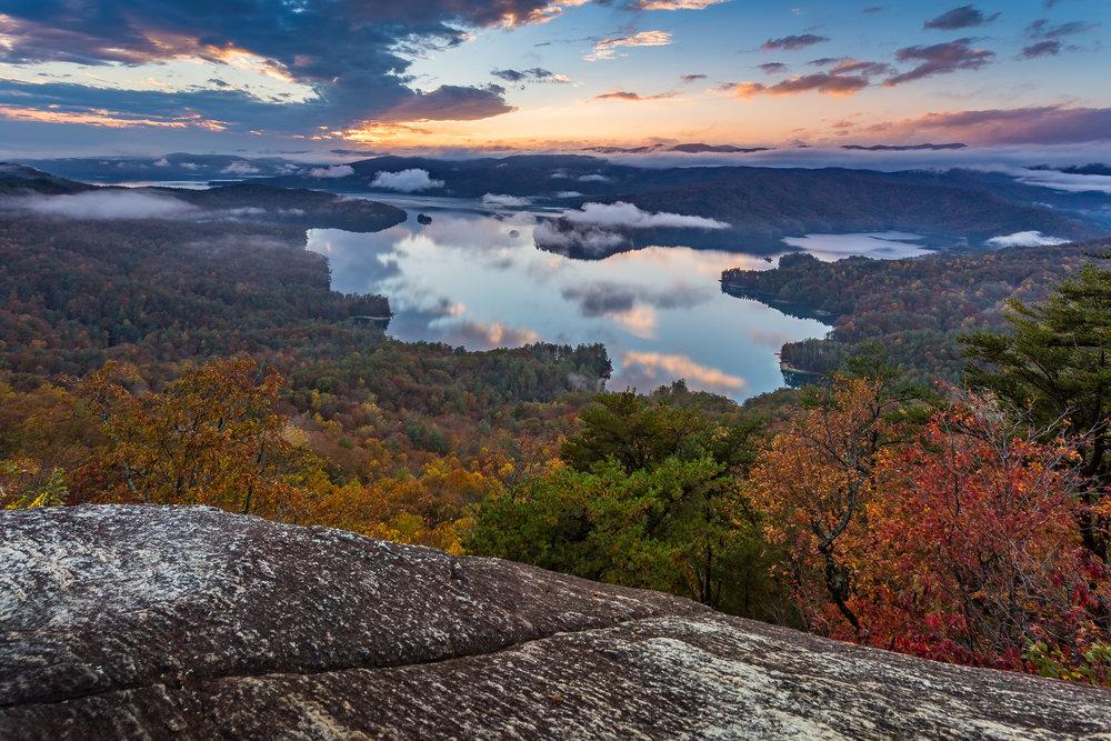 Lake Jocassee Sunset, South Carolina