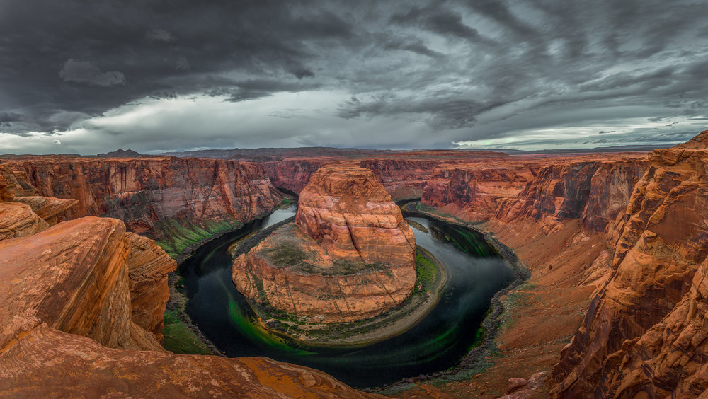 Horseshoe Bend Storm  © Andrew Lockwood 2017