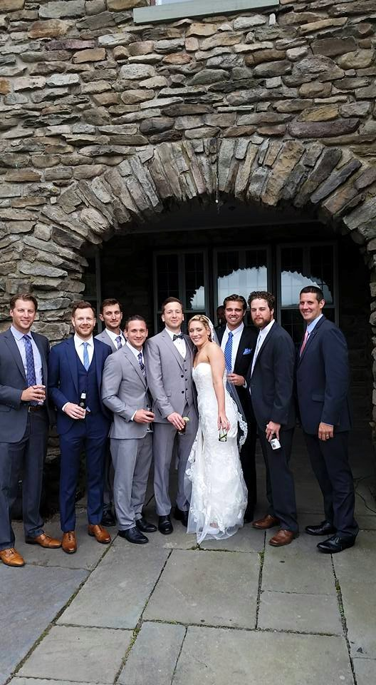 Congrats Carrie and Rich! Photo via Facebook