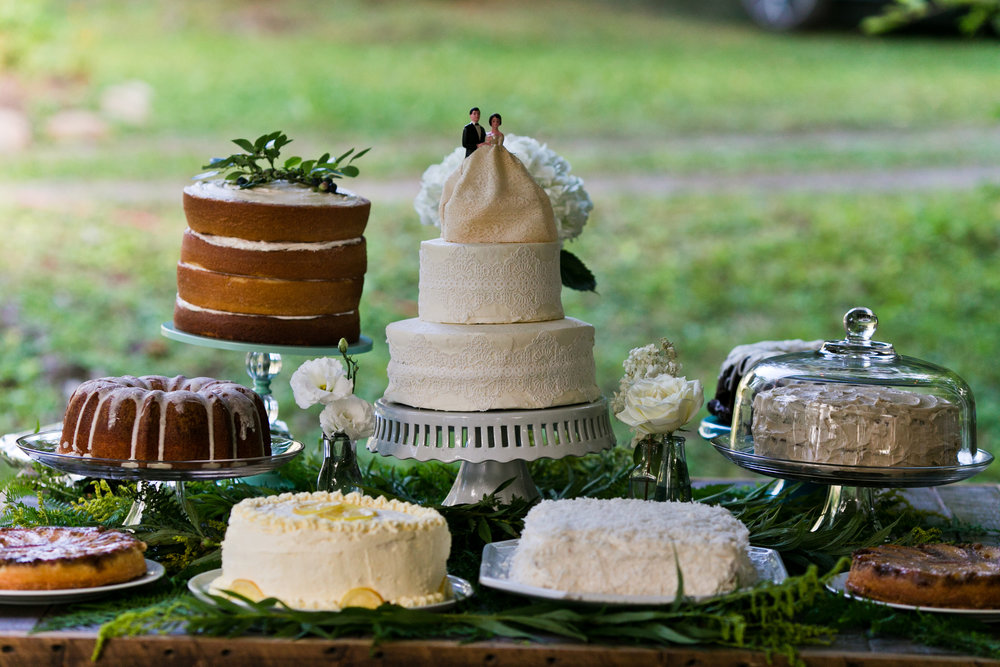 Family made desserts! Photo by Kelley Spurlock Photography.