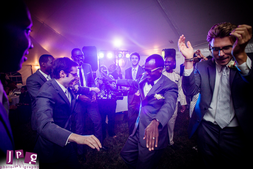 Have fun! Like our groom Shami, killing it on the dance floor.