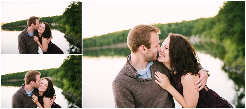 Carrie and Justin Engaged, Photo by Bethel Ann Photography