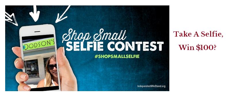 Shop Small Selfie