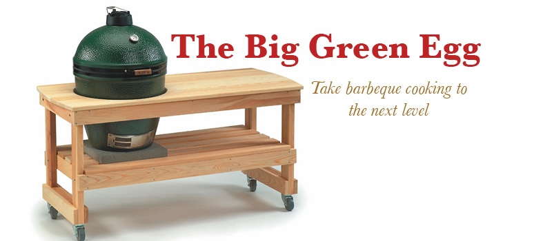 Big Green Egg Charcoal Barbeque Grill