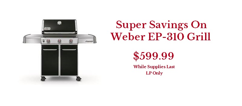 Weber Genesis EP-310 LP Grill Clearance