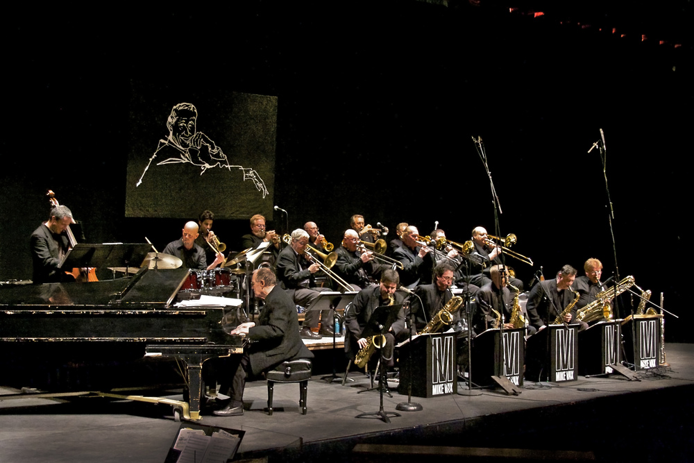 The Stan Kenton Alumni Band, directed by Mike Vax (readmore below)