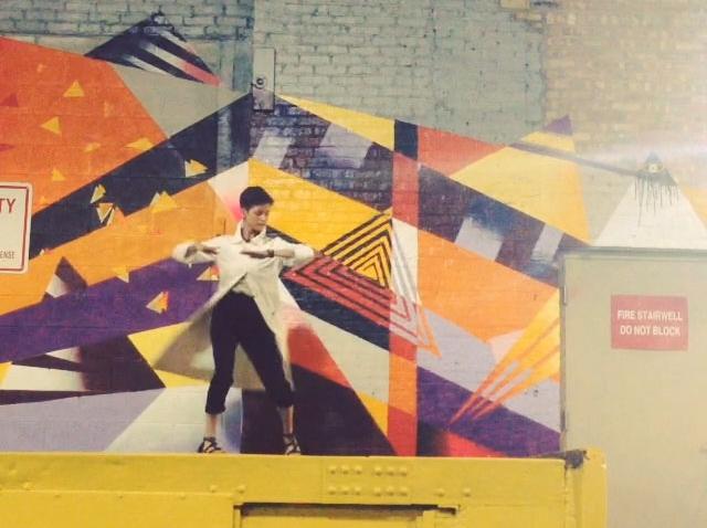 The Neighborhood Dances an Installation by Victoria Eleanor Bradford