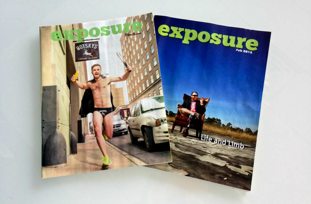 Subscribe to Exposure Magazine Today!