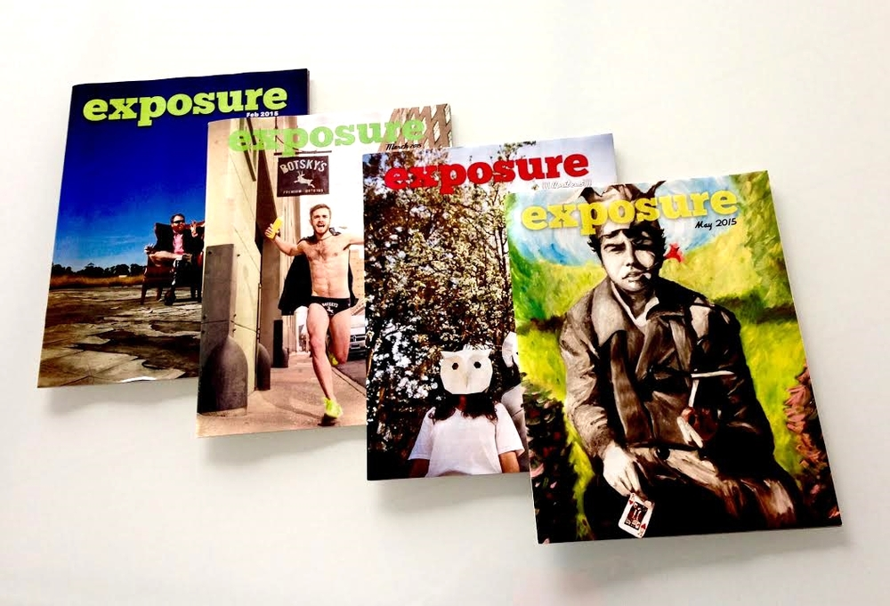 Read the Latest Issues of Exposure