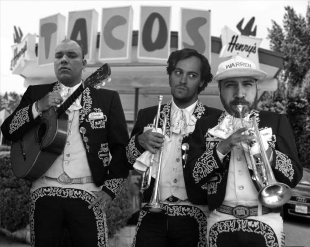 Psychedelic Mariachi By Michael Wicks