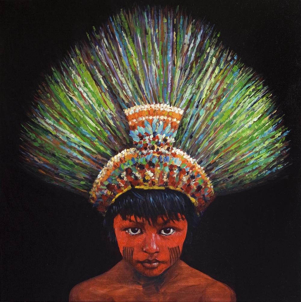 Boy With Headdress
