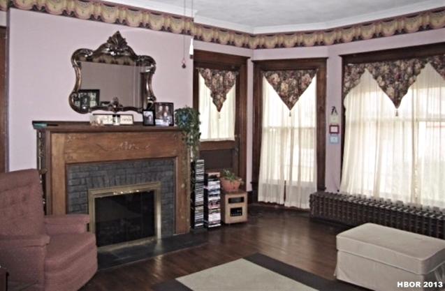 The living room, B.H.E. (Before Hilan Era).