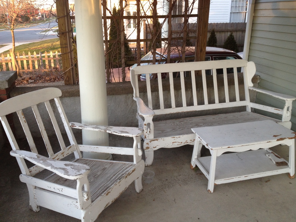 Porch chairs, Ada.