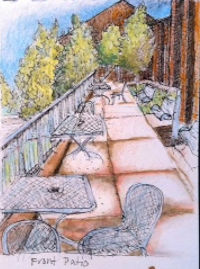 Sketch of GCC Front Patio